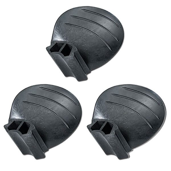"Piranha Replacement Blades - Set of 3 - Fits ""C"" size 3-Blade Hub - 10-3/8D x 13P - RH Rotation"