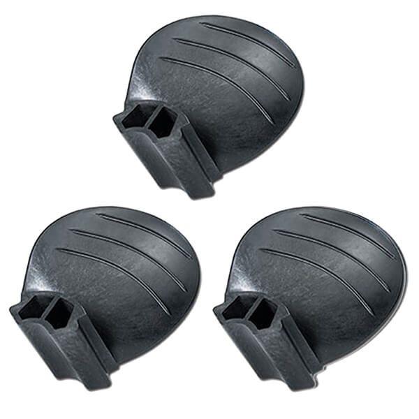 "Piranha Replacement Blades - Set of 3 - Fits ""D & E"" size 3-Blade Hub - 9.5D x 5P - RH Rotation"