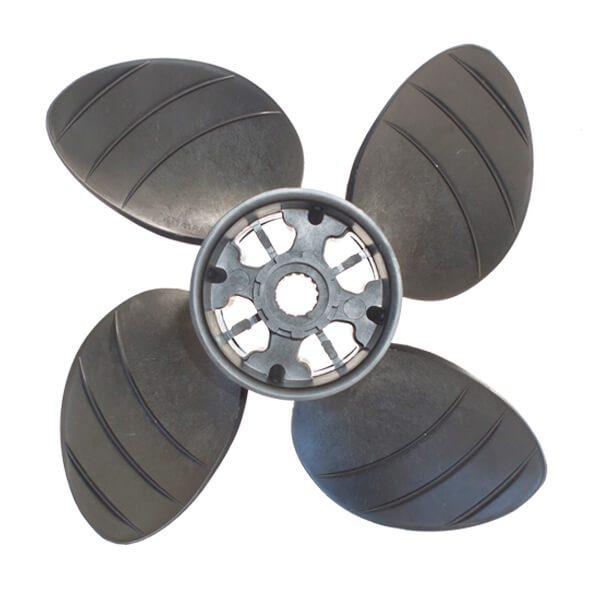 "Piranha Composite 4-Blade Propeller System -13D x 18P - RH Rotation -Size B - 4"" Gearcase"