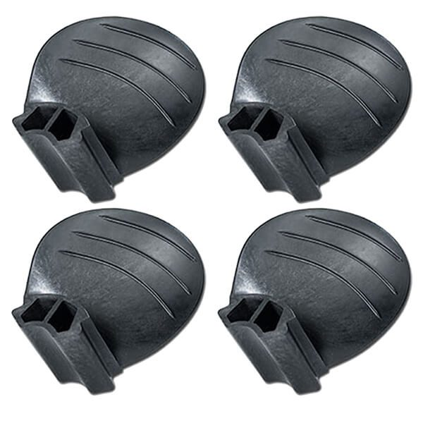 "Piranha Replacement Blades - Set of 4 - Fits ""B"" size 4-Blade Hub - 13D x 24P - RH Rotation"