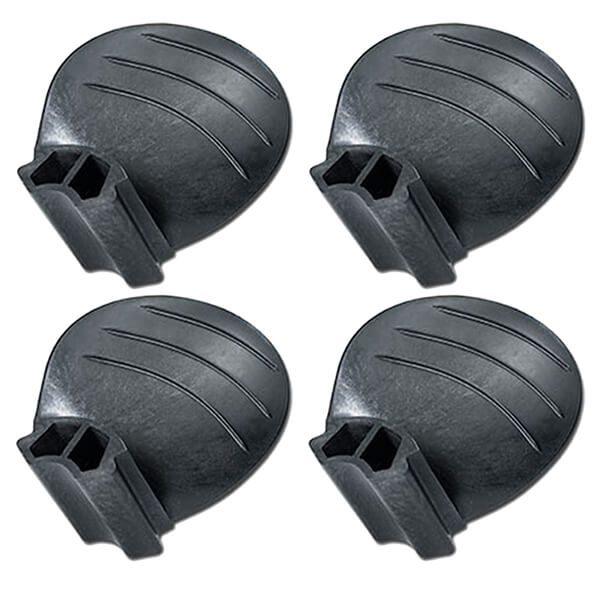 "Piranha Replacement Blades - Set of 4 - Fits ""A"" size 4-Blade Hub - 14D x 20P - RH Rotation"